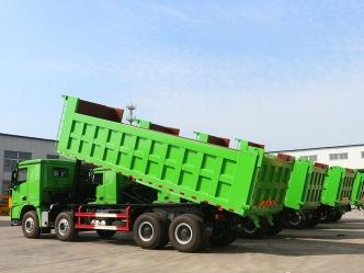 Dump truck loading