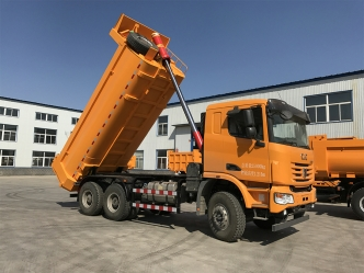Loading quality of dump truck